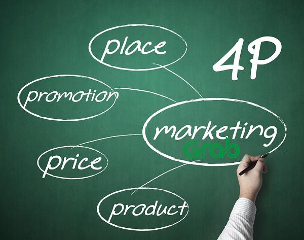 """Mix 4P """"thượng phong"""" trong chiến lược Marketing của Grab"""