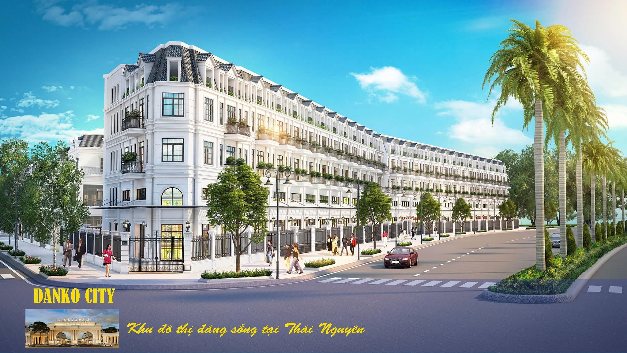 Danko City khu đô thị đáng sống tại Thái Nguyên