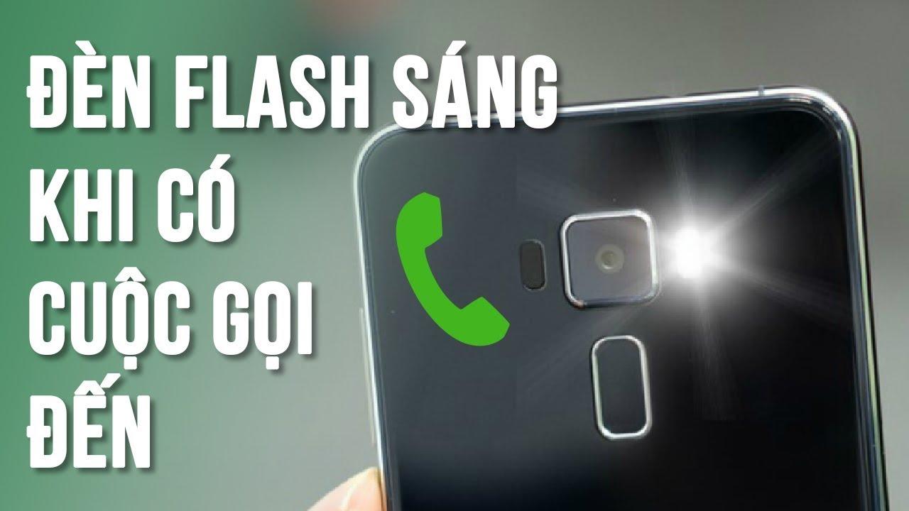 Hướng dẫn cách cài đặt đèn flash khi có cuộc gọi đến Iphone