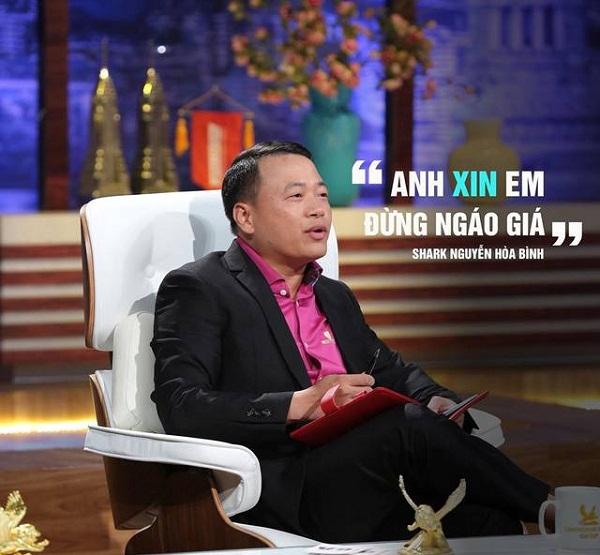Tiểu sử Shark Nguyễn Hòa Bình – Shark Tank Việt Nam 2019