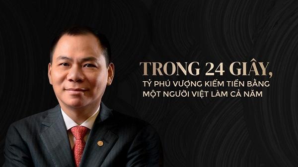 Tiểu sử của Tỷ phú Phạm Nhật Vượng – người đàn ông giàu nhất Việt Nam